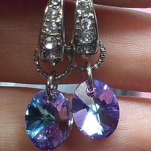 Jewelry - Swarvoski Crystal earrings